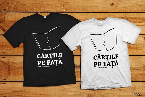 Tshirt-Cartile-pe-Fata