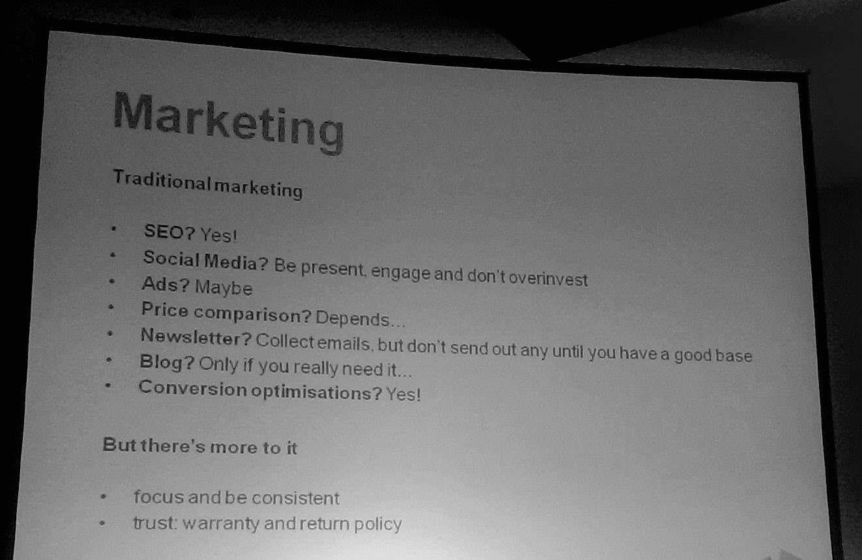 Marketing Meet Magento