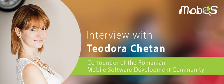 interview with Teodora Chetan