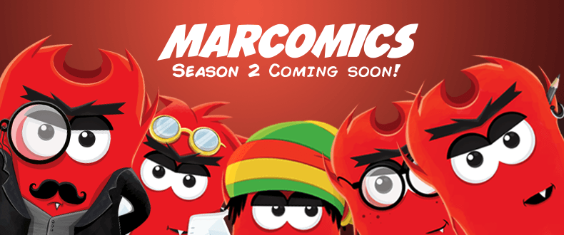 Marcomics season 2 - trailer