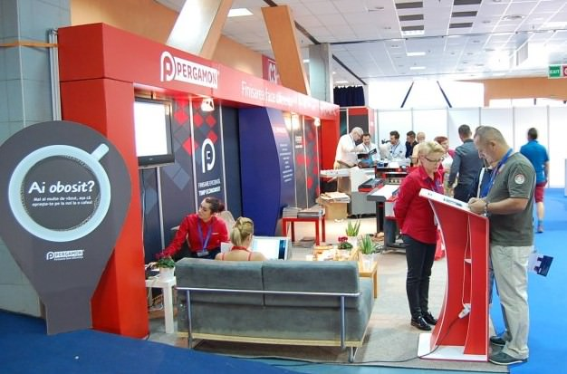 Pergamon Exhibition booth