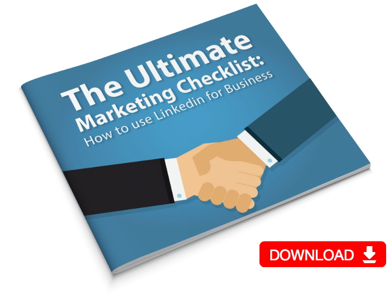 Ultimate Marketing Checklist Linkedin For Business download