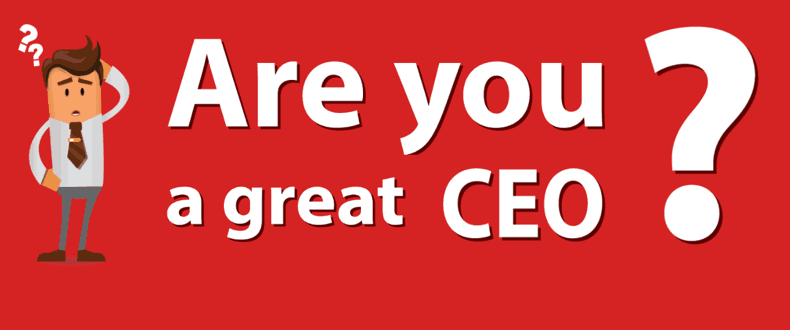 You Are A Great CEO Cover