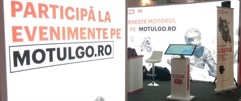 MotulGo booth at SMAEB