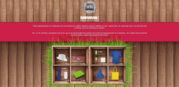 Survival kit web