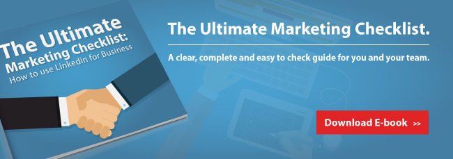 Get the Ultimate Marketing Checklist