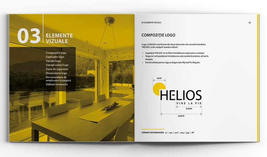 compozitie logo helios
