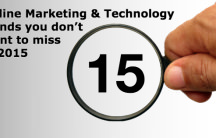 15 online marketing technology trends