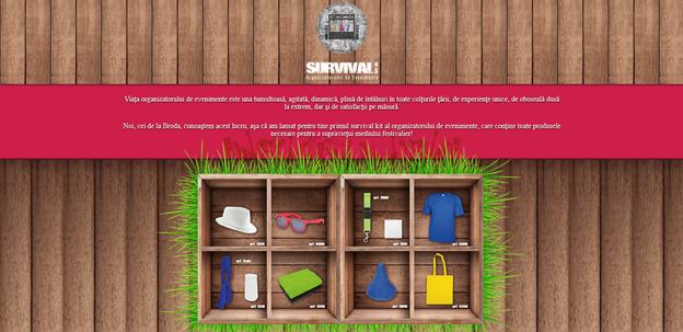 Survival kit web
