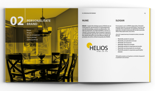personalitate brand Helios
