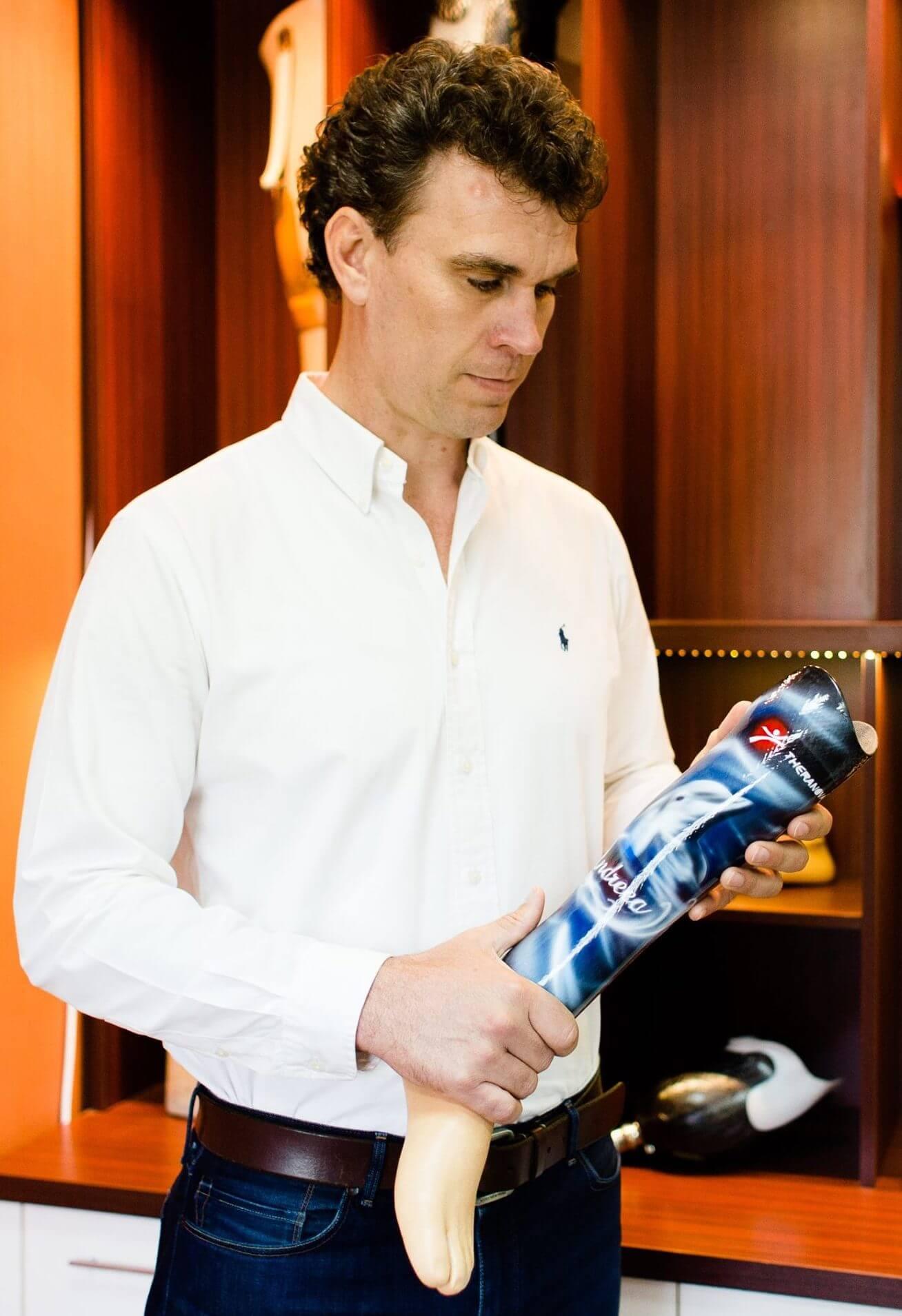 Jaco Du Plessis – CEO Theranova