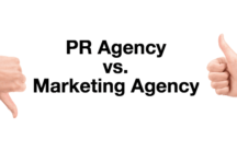 PR Agency Vs Marketing Agency