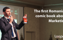 marketing comic book