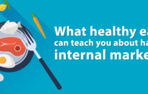 What healthy eating can teach you about handling internal marketing